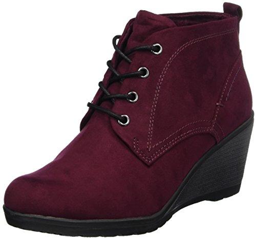 MARCO TOZZI Damen 25111 Stiefel Rot (Chianti) 40 EU