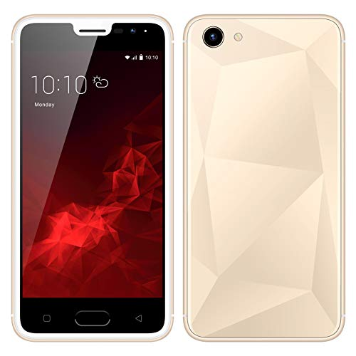 SIM-Free Mobile Phones,Unlocked 5 0 Inch Android Go Smartphones ,MTK6572  Quad Cores,1GB RAM & 4GB ROM, 5 0MP HD Beauty Camera,3G/GSM Dual SIM Cell