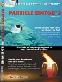 Particle Editor 3 Software for the Wild Divine Lightstone by Mind Modulations