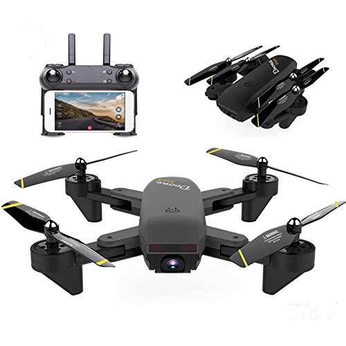 FPV Drone per Principianti con Videocamera Wi-Fi HD Quadricottero RC con Mantenimento Dell'altitudine, Ritorno con Una Chiave, modalità Senza Testa, Decollo/Atterraggio A Una Chiave E 3D Flip