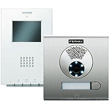 """Kit videoportero 1 vivienda color sistema VDS monitor ILOFT 3.5"""" placa CITYLINE"""