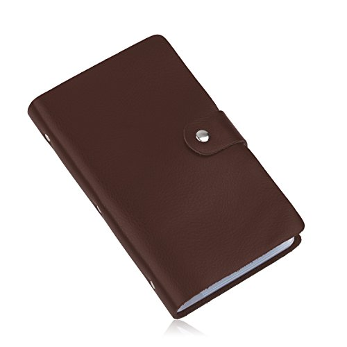 Buying book store cards the office stores website good cool shop leather business card case credit card holder id card holder book style 90 count name card holder book brown reheart Images