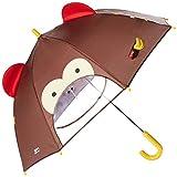 Skip Hop Zoo Little Kid And Toddler Umbrella, Marshall Monkey