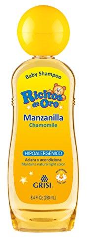 GOLD Kamille Shampoo RICITOS (Manzanilla Shampoo Grisi)