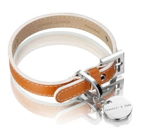 hennessy-sons-hand-made-italian-saffiano-leather-dog-collar-29-35-x-18-x-03-cm-60-g-hermes-tan
