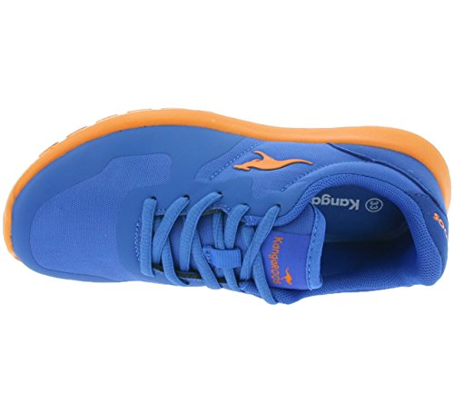 KangaROOS Schuhe K-X 2222 A Unisex royal blue-orange (1728A-476)