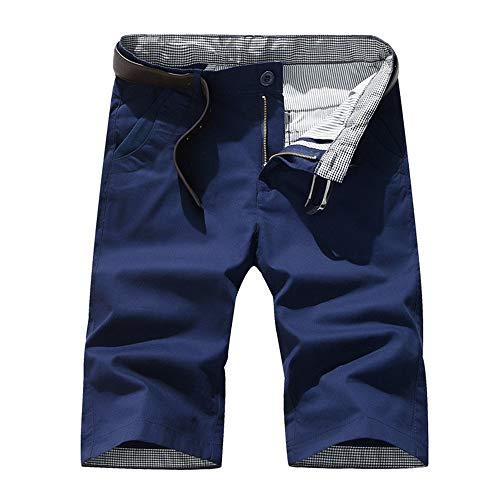 Beonzale Sommer Mode Männer Sommermode Pathwork Lässige Tether Elastic Design Kurze Sweatpants Designer Slim Fit Hose