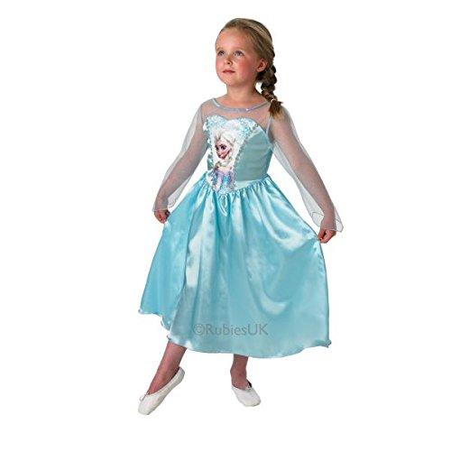 Disney Elsa La Reine des neiges Déguisement-Taille - Kostüm La Reine Des Neiges