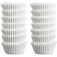 Zenker 43423 Mini-Moules à Muffin Papier Blanc 3 x 3 x 2,5 cm 240 Pièces