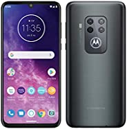 Motorola One Zoom with Alexa Hands-free Dual SIM Smartphone (6.4 Inch FHD+ Display, Quad Camera System, 128 GB