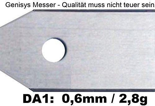 30 Automower Messer (0,6mm) für den Husqvarna Automower