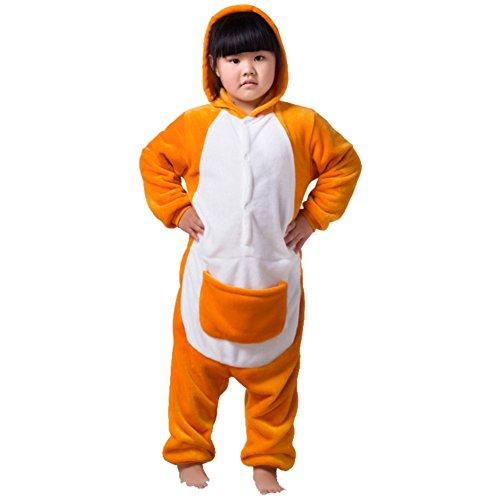 Honeystore Children's Kostüm Jumpsuit Siamesische Kleidung Tier Cosplay Känguruh Pyjamas (Jumpsuit Swat)