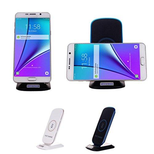 Preisvergleich Produktbild Sansee Wireless Power Charger Ladekabel für Samsung Galaxy S8 / S8 Plus (Samsung Galaxy S8/S8 Plus, Schwarz)