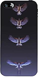 Snoogg Eagles Designer Protective Back Case Cover Forforapple Iphone 5C / Iph...