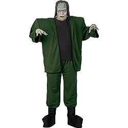 Monstruo de Frankenstein disfraz para Halloween disfraces de adultos (XXL)