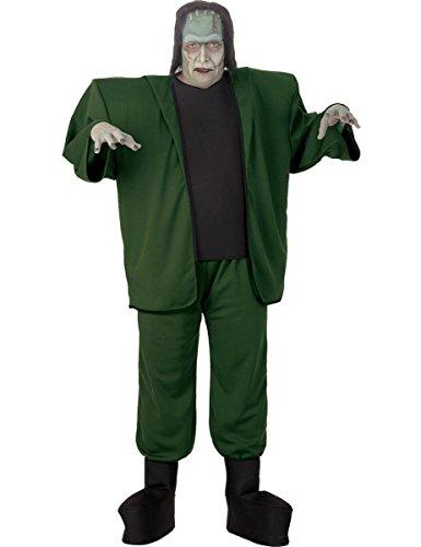 Kostüm für Erwachsene (Übergröße) (Frankenstein Kostüm Halloween)