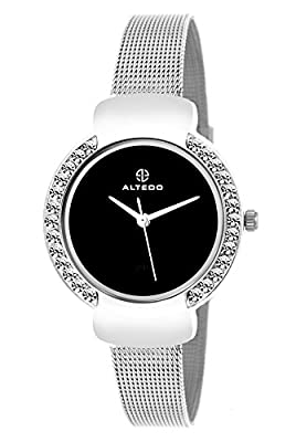 Altedo Analog Black Dial Women's Watch - Eternal Series