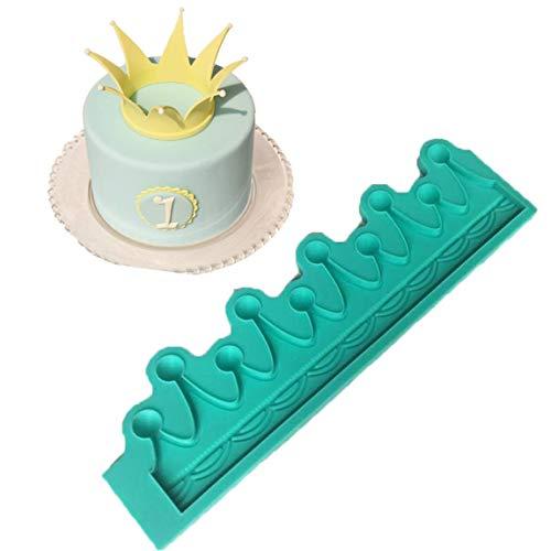 Kleine Krone Fondant Kuchen Silikonform Schokoladenformen Kuchen Dekoration Werkzeuge für Kuchen Dekoration Cupcake Topper Decor