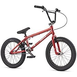 """Wethepeople Curse - Bicicleta para niño, color rojo, 18"""""""