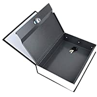 Dictionary Book Safe Security Cash Money Box with Locker & Key