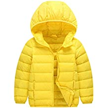 big sale 9b104 02058 Piumini Abbigliamento - Giallo - Amazon.it
