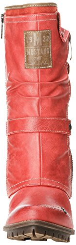 Mustang 1141606, Boots femme Rouge (5 Rot)