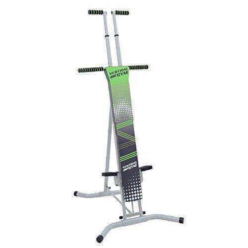 Bonplus Máquina de Escalada Vertical Vertical Gym Cardio y Musculación/Adaptable a Diferentes Alturas y Niveles de Intensidad