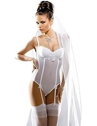 Gracya Naomi Body de Mariée Blanc GRA005