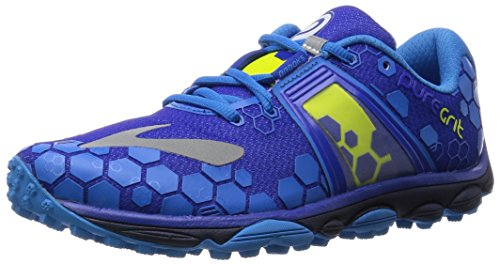 Brooks Puregrit 4-110202 1D 473, Men's Running Shoes, Blue (Surftheweb/Brilliant Blue/Limepunch 473),...