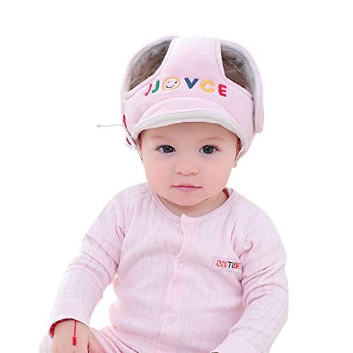 Cuteelf Baby-Anti-Fall-Kopfschutzkappe Baby-Kleinkind-Antikollisionshut Bruchsicherer Hut Kopfschutzkappe Baby-Kopfschutz weicher Hut Helm Kollisionssicherheitsbewegung