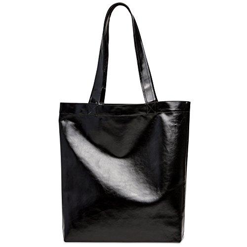 CASPAR Fashion, Borsa a spalla donna Nero