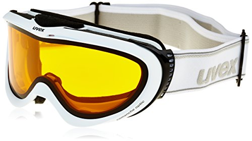 UVEX, Maschera da sci Comanche Optic, Bianco (Offwhite), Taglia unica