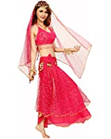 VENI MASEE Gauze Belly Dancing Costumes Set--A Four-Piece , Price/Set