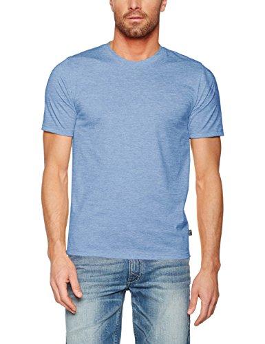 Trigema 537202-T-Shirt Donna Blau (Royal-Melange 249)