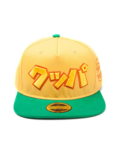 Meroncourt Nintendo Super Mario Bros. Japanese Bowser Logo Snapback Baseball Cap, One...