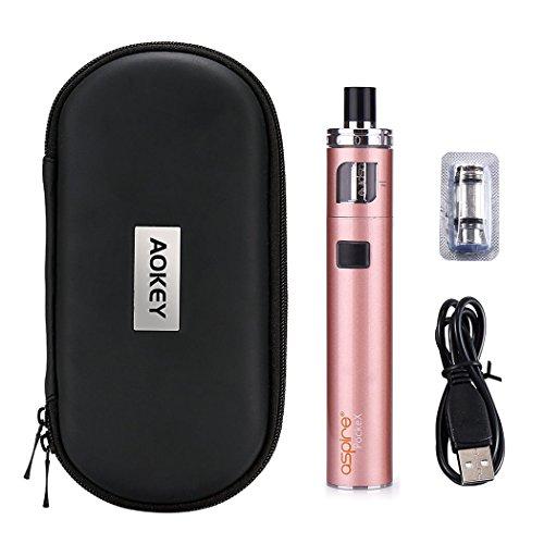 Aspire E Zigarette Starter Set mit Tasche, PockeX AIO Komplettset Rosegold von vaporshopvip, E-shisha ohne Nikotin