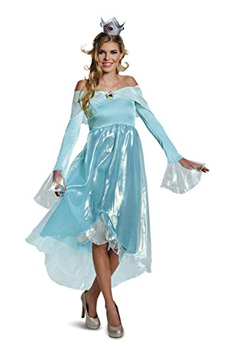 Deluxe Womens Fancy dress costume Small (Deluxe Fancy Dress Kostüm)