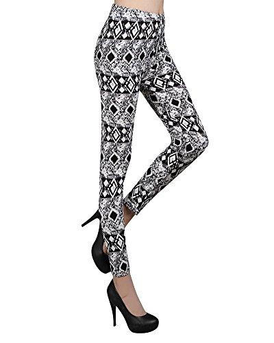 Impression Leggings pour Femme, Des Sports Gym Pants de Yoga Pantalons Athlétiques LXGZ