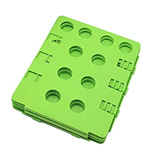 Picka Albe Clothes Folding Board Shirts Folder Adjustable Clothes Folder Easy and Fast to Fold (Green)
