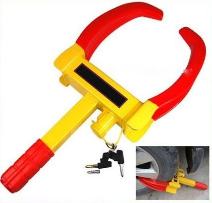 autofurnish universal yellow anti theft car wheel tyre lock clamp - nypd style Autofurnish Universal Yellow Anti Theft Car Wheel Tyre Lock Clamp – Nypd Style 41fofeQwcQL