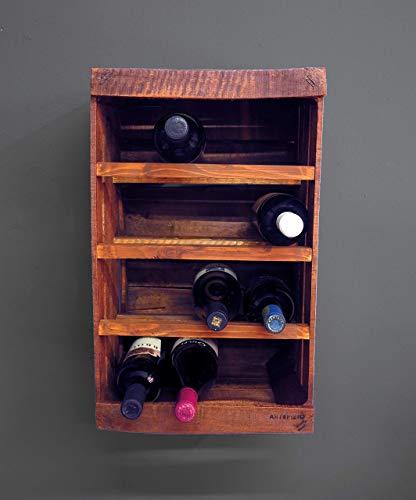Cassetta in legno portabottiglie // vintage // DIY // upcycling // riciclo creativo // frutta, vino