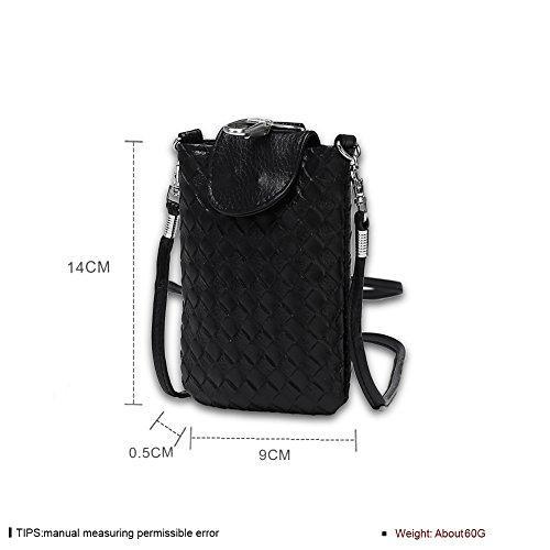 Faysting EU donna borselino borsa a tracolla borsa a spalla borsa a cellulare piccola forma fashion stile conveniente pelle materiale buon regalo san valentino B