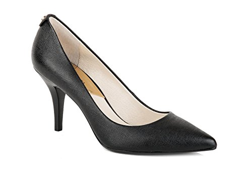 Michael Kors Damen Black Pumps, Schwarz (Maki-Flex Mid Pump 40t2mfmp2l), 38 EU