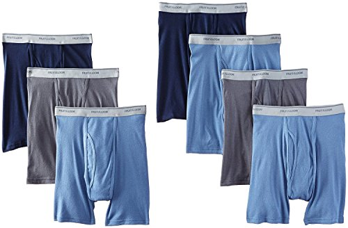Fruit of the Loom Men's Tag-Free Boxer Brief (Pack of 7) - Loom Mens Boxer Briefs