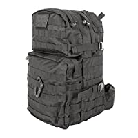 British Army Tactical Combat Rucksack Bergen Molle Black 40 Litre L New