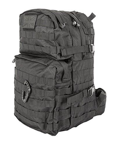 British Army Tactical Combat Rucksack Bergen Molle Black 40 Litre L New 1