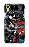 Case Me Up Coque téléphone pour Iphone XR Venom Spiderman Eddie Brock Mac Gargan...