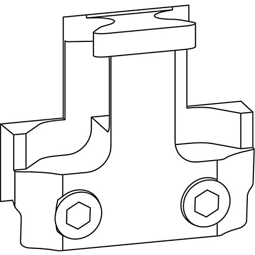 GU-966/200 Steuerteil, Zinkdruckguss silberfärbig