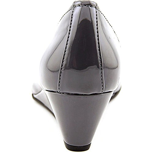 Giani Bernini Jileen Synthétique Talons Compensés Steel Grey