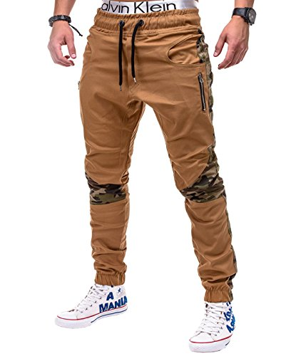 betterstylz-dixonbz-mens-chino-jogger-trousers-pants-camouflage-army-div-colours-s-3xl-x-large-camel